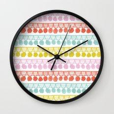 Pom Pom Fringe Wall Clock