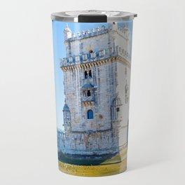 Tower Of Belem Travel Mug