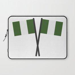 nigeria flag Laptop Sleeve