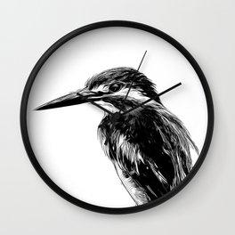 Kingfisher v2 vawh Wall Clock