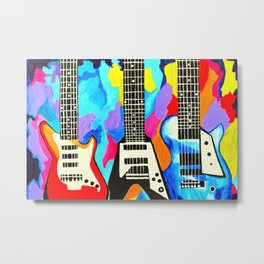 Fancy Guitars Metal Print