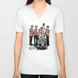 Barbershop Quartet Surgeons Unisex V-Neck