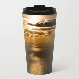 Sunrise over the Atlantic ocean Travel Mug