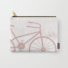 Pink Bike by Friztin Carry-All Pouch