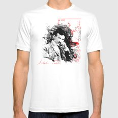 Nikola Tesla Mens Fitted Tee White LARGE