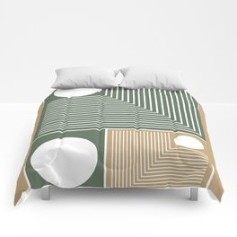 Stylish Geometric Abstract Comforters