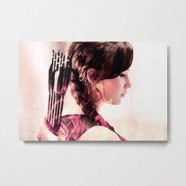 katniss ; if he wants me broken Metal Print