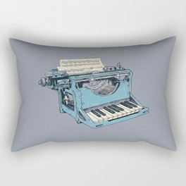 The Composition. Rectangular Pillow