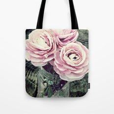 Pretty Ranunculus Tote Bag