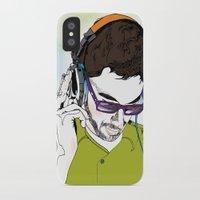 dj iPhone & iPod Cases featuring DJ  by Vivian Gerber