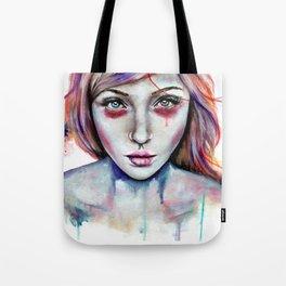 Seeing You Heterochromia Tote Bag