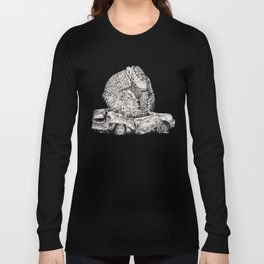 An Inelegant Armadillo Long Sleeve T-shirt