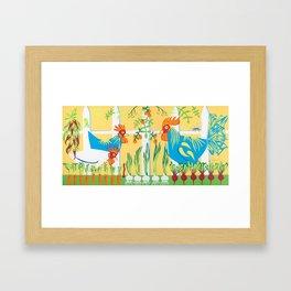 Earlybirds Framed Art Print