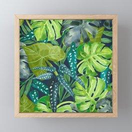 Botanical Leaves Framed Mini Art Print