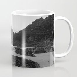 Mist Rolling in at Kynance Cove Coffee Mug
