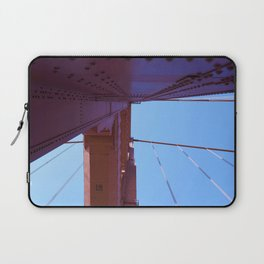 Looking Up, Walking the Golden Gate Laptop Sleeve