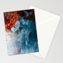 Collision II Stationery Cards