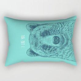 I Like You (Bear) Rectangular Pillow
