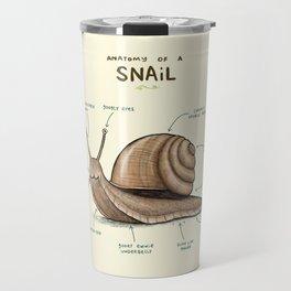 Anatomy of a Snail Travel Mug