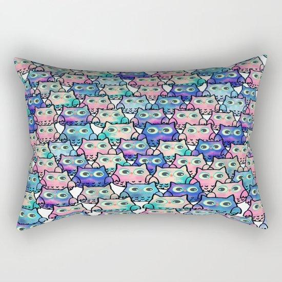 owl-49 Rectangular Pillow