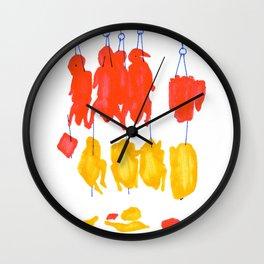 Crispy Duck Wall Clock