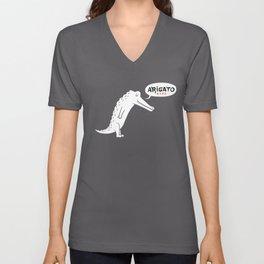 Domo Alligator Unisex V-Neck