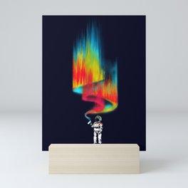 Space vandal Mini Art Print