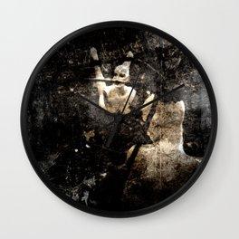 The Wrath of Medusa Wall Clock