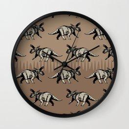 ChocoPaleo: Anchiceratops Wall Clock