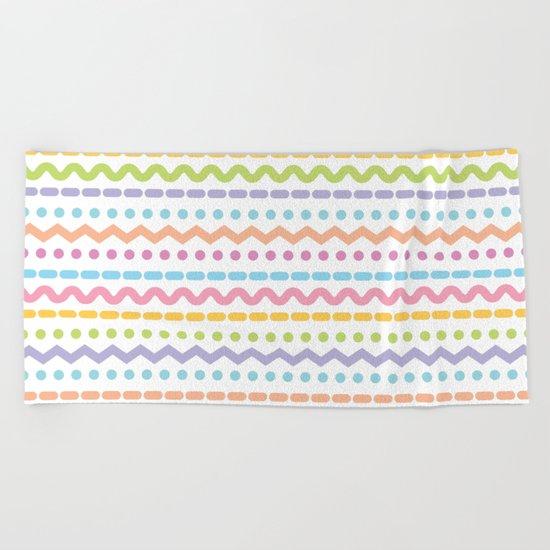 Color line 4 Beach Towel