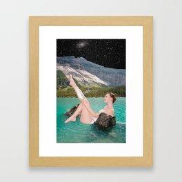 Night Shave Framed Art Print