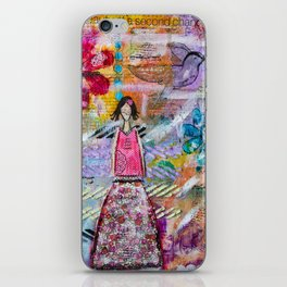 Go with your heart iPhone Skin