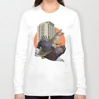 cage Long Sleeve T-shirts featuring Cage home by Lerson