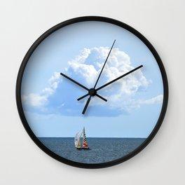 Atlantic Cloud Wall Clock