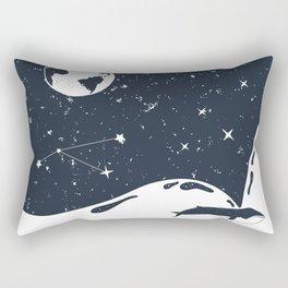 Think About Gaia Rectangular Pillow