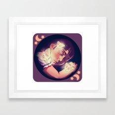 Le Luna Framed Art Print