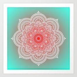 Mandala Lorana  Tender Art Print