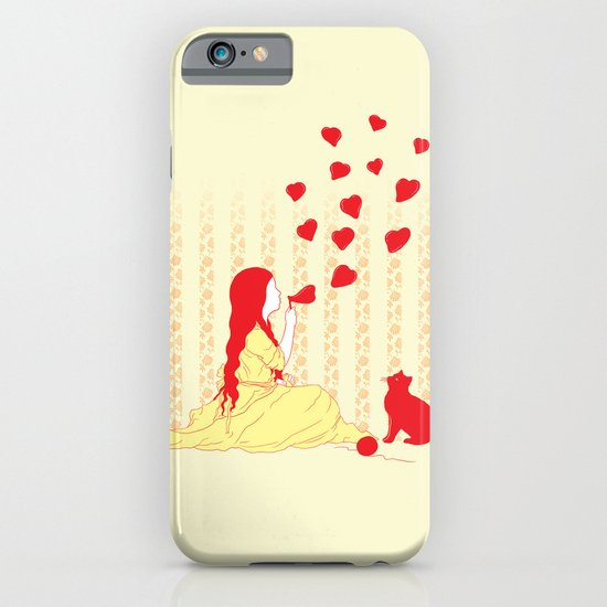 Bubbly Hearts iPhone & iPod Case