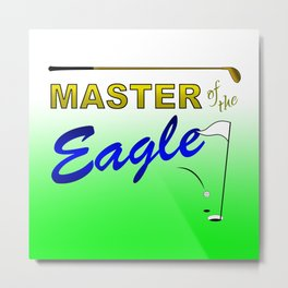 Master of the Eagle Metal Print