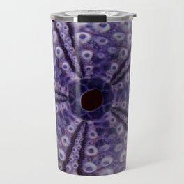 purple urchin I Travel Mug