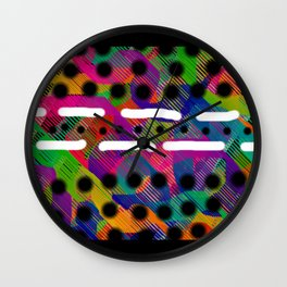 Buvard Wall Clock