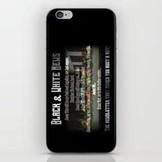 The Black & White Last Supper iPhone & iPod Skin
