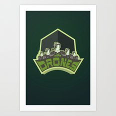 The Borg Drones Art Print