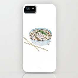 U is for Udon Soup iPhone Case