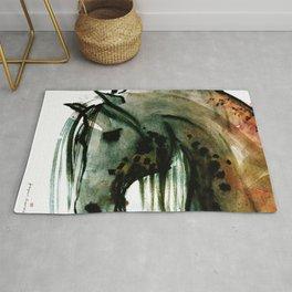 Horse (Lusitano portrait) Rug