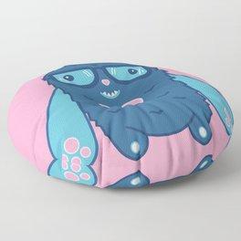 Mittstagrams - The Original Mitts (in Pink) Floor Pillow
