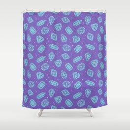 Gemstones Galore Shower Curtain