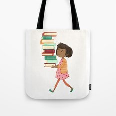 Library Girl 4 Tote Bag