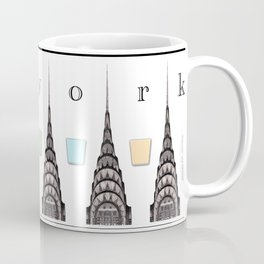 Chrysler New York Mug with Color Coffee Mug