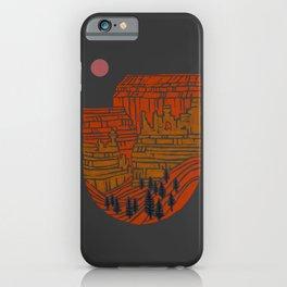 Landscape in Grey iPhone Case